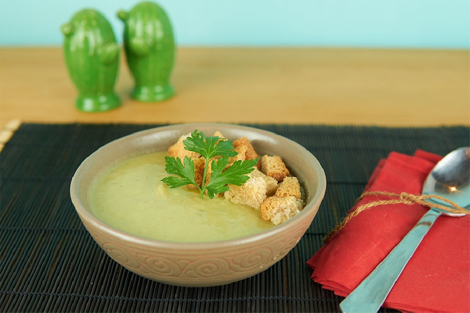 Curso de cocina de verduras y hortalizas - 6 - cremas calientes y hamburguesas vegetales