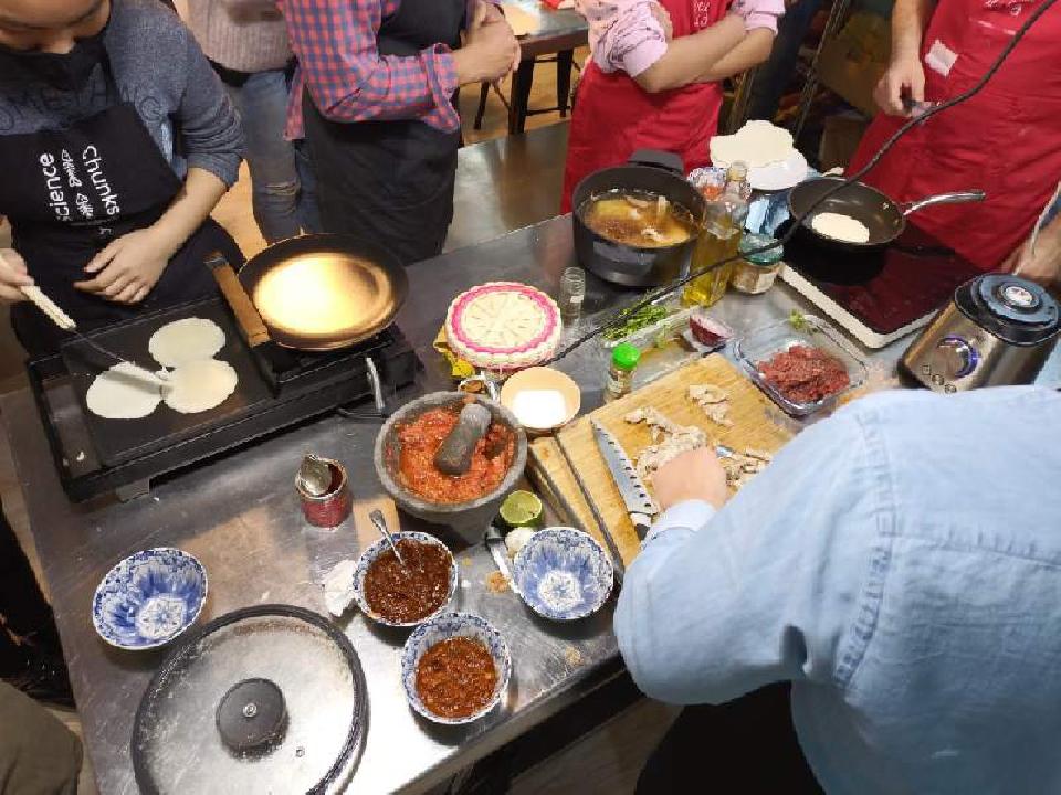 Taller de cocina mexicana - vermut del domingo
