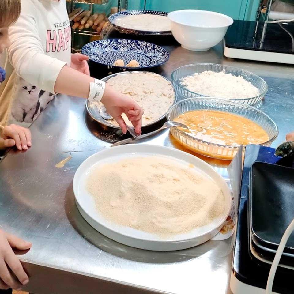 Taller de cocina infantil - los platos de la abuela