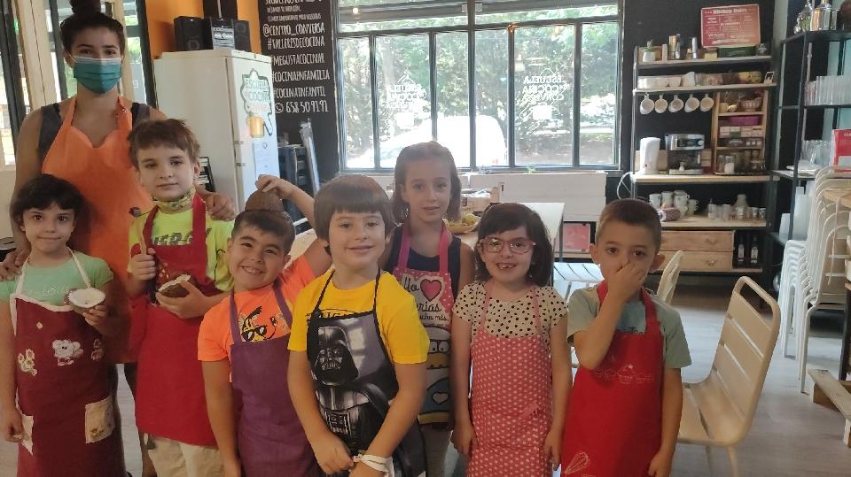 Taller de cocina infantil: hamburguesas y refresco casero