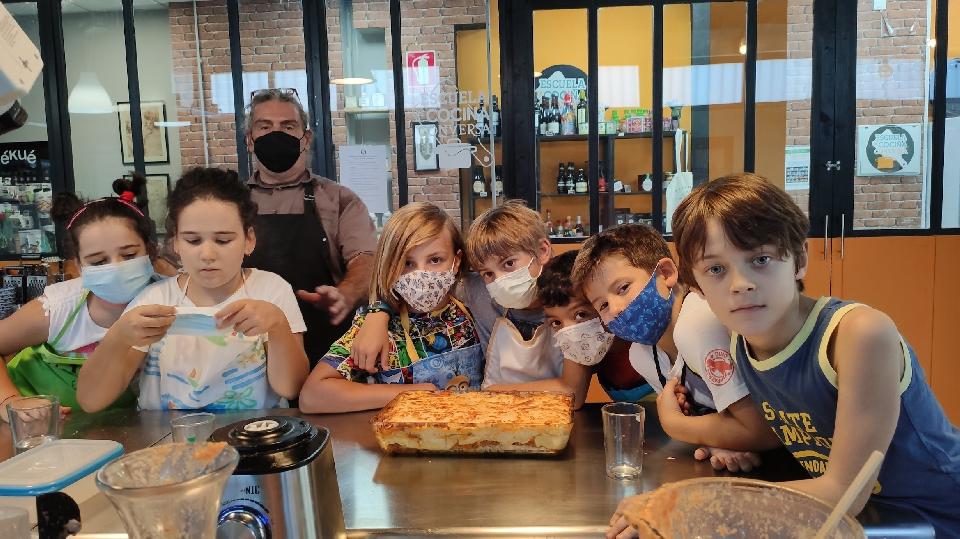 Taller de cocina infantil: lasaña casera
