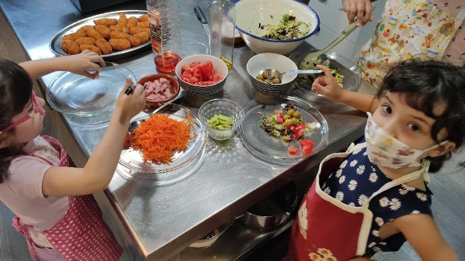 Taller de cocina infantil: paellas y frutas de temporada