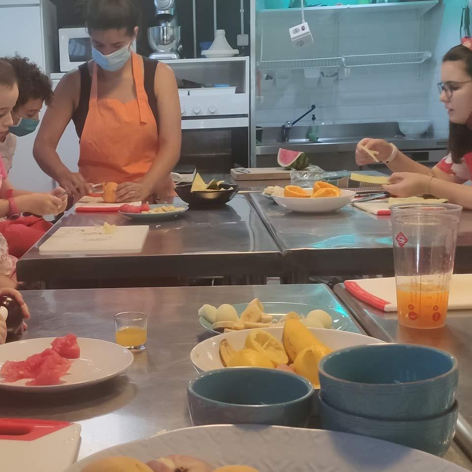 Taller de cocina infantil: Nos gusta el verano