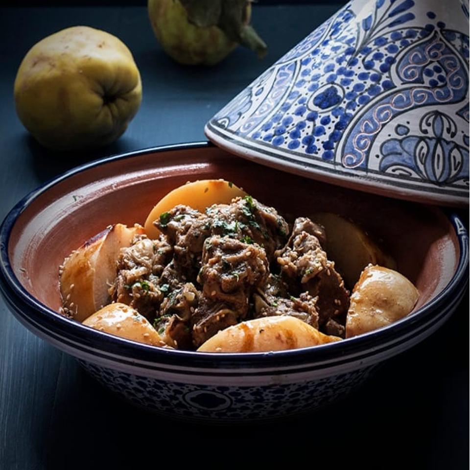 Disfruta la cocina marroquí: Tajine de cordero y membrillo