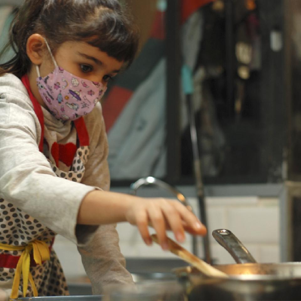Taller de cocina infantil - Hamburguesas vegetarianas