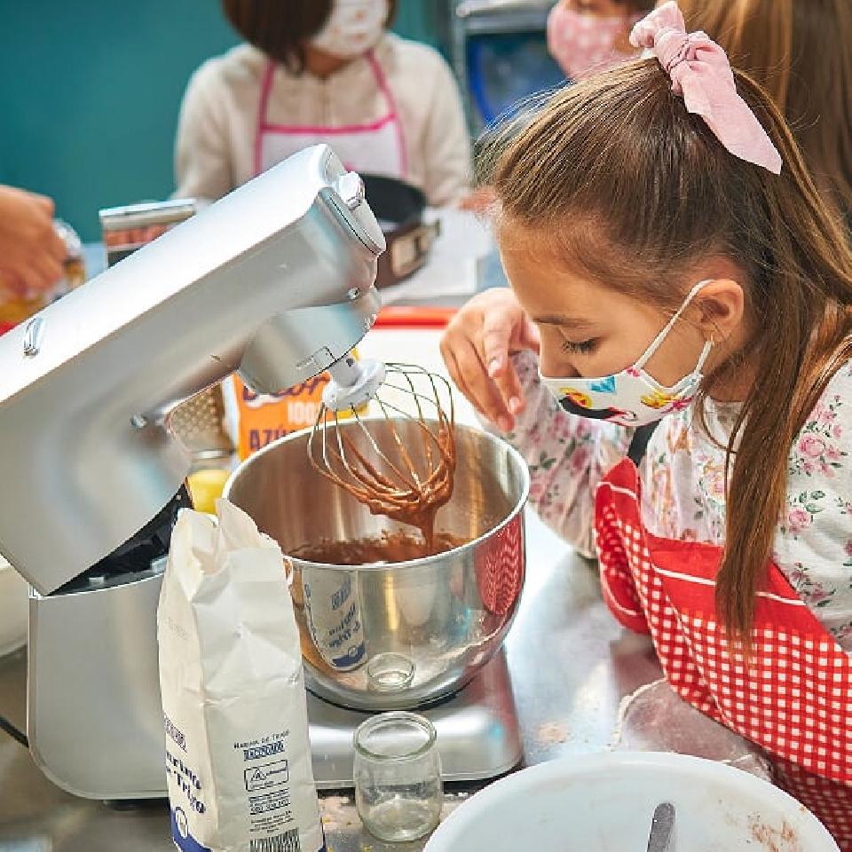 Taller de cocina infantil - Repostería fácil: Brazo de gitano