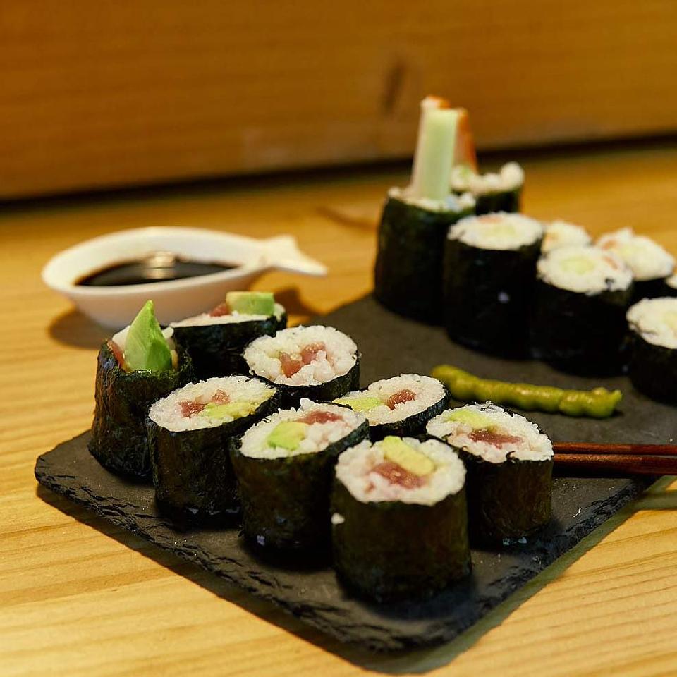 Sushi en familia