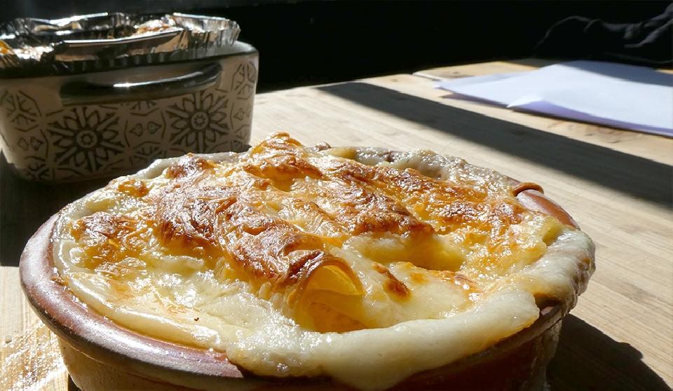 Lasaña casera con pasta fresca
