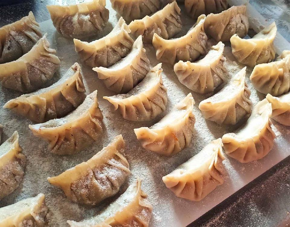 Cocina china para el Año Nuevo del Buey