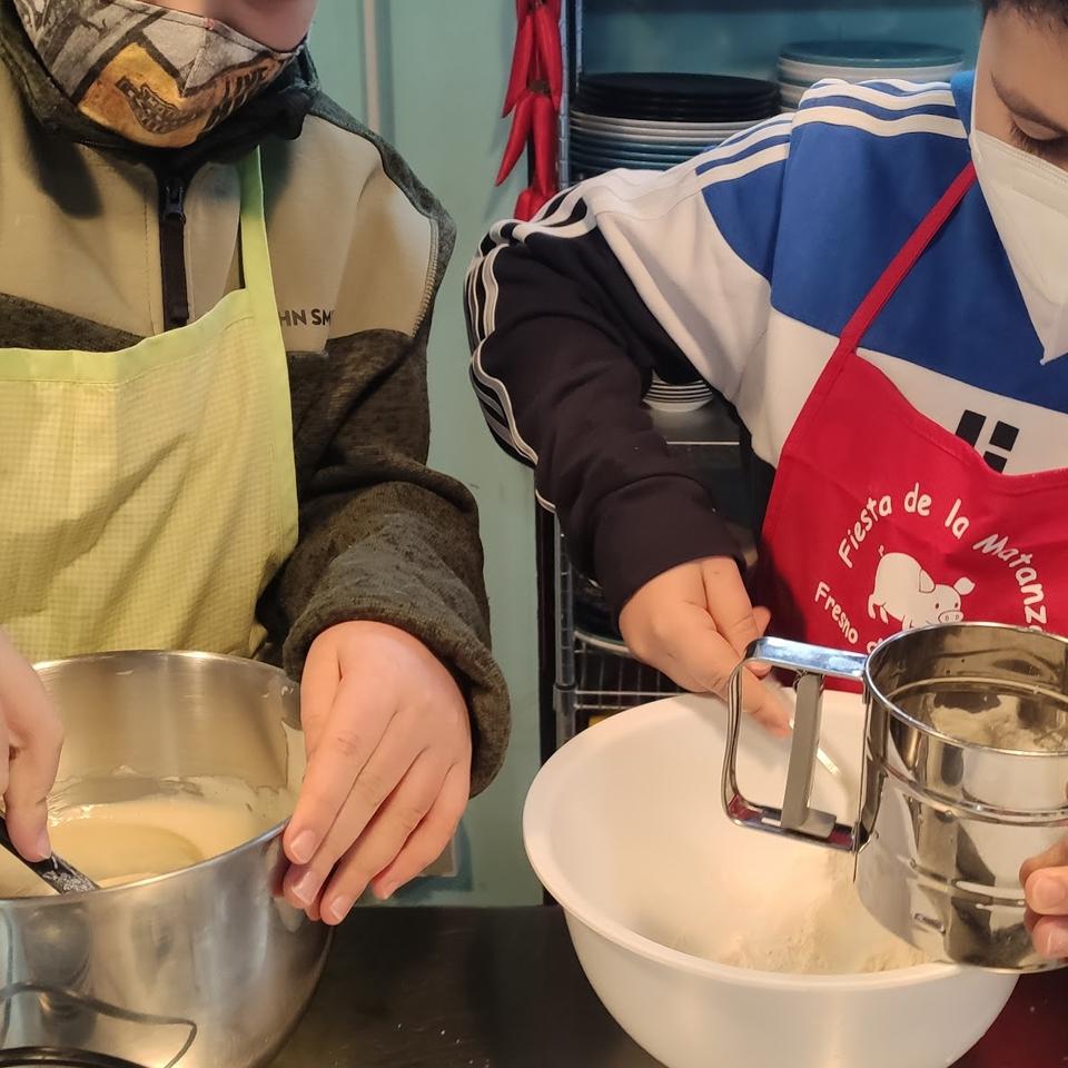 Taller de cocina en familia- Repostería básico: Brazo de gitano