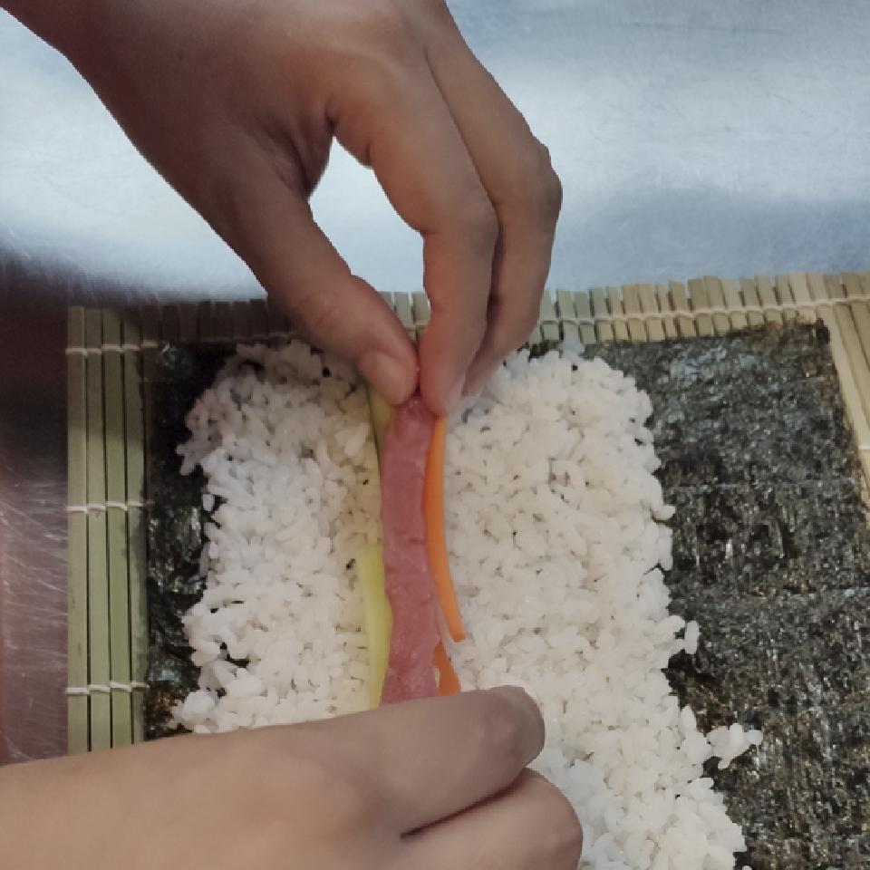 Taller de cocina infantil - Llega el sushi