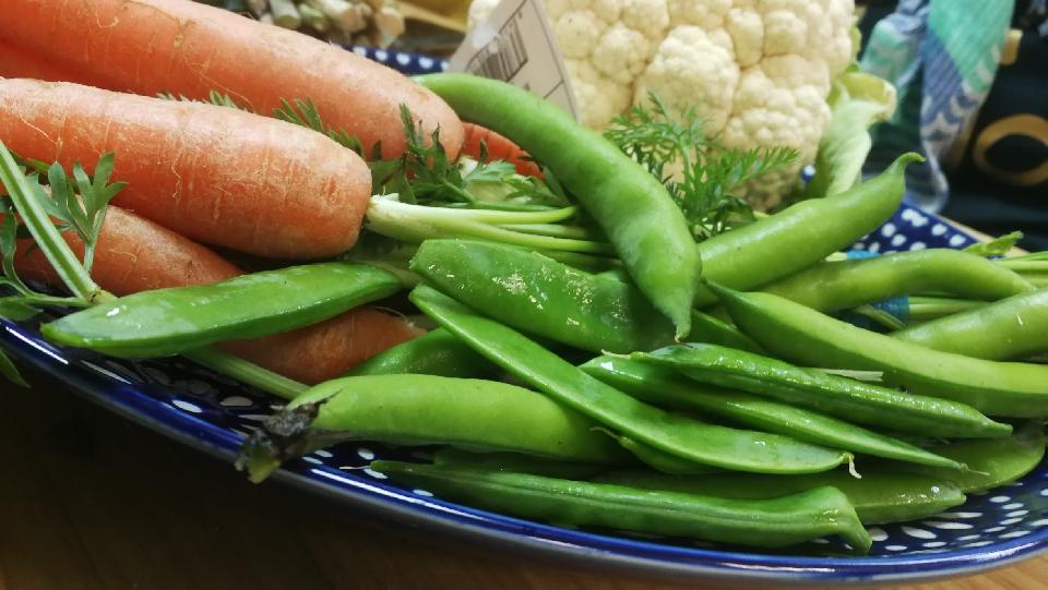 Curso de cocina de verduras y hortalizas - 2 - verduras y semillas al vapor