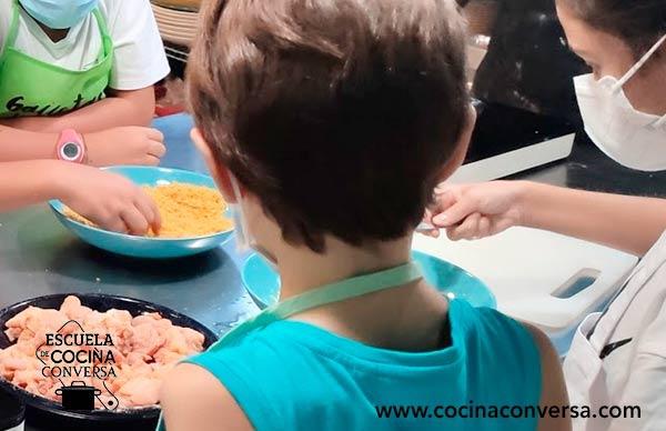 clase de cocina infantil